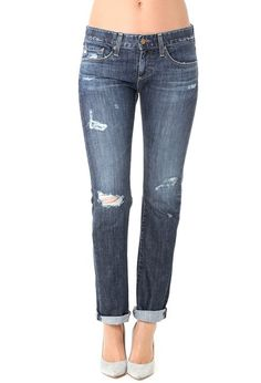 AG Jeans Official Store, The Tomboy - 10 Years Parched Wood, 10 years parched wood, Women's the Tomboy, UNI1264