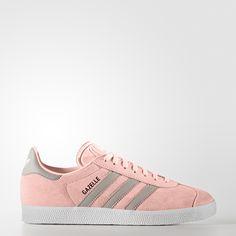 Trouve tes adidas dans la categorie: Chaussures, Gazelle, rose. Toutes les  couleurs et styles adidas sur le site adidas.fr.