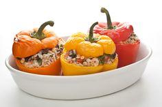 Vegetariánské plněné papriky | Jóga Dnes