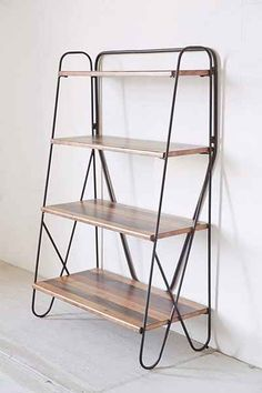 "$189 -  - Length: 28.5"" - Width: 14.5"" - Height: 43.25"" Max Wood Bookshelf - Urban Outfitters"