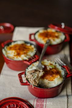 Thanksgiving Leftovers for Sunday Supper! Individual Turkey Pot Pies.