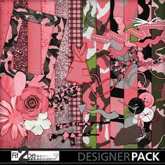 Enjoy these high quality designs by #Fit2beScrapped @MyMemoreis.com #DIgital #Creative #scrapbook #Craft #Duck_season_girl_add-on