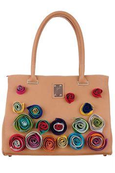 Geanta de umar piele bej cu flori in relief Bracelet Crafts, Bracelets, Hermes Birkin, Bags, Fashion, Handbags, Moda, Fashion Styles, Bracelet