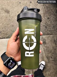 Product Info: Cant go wrong with an Army green RCN Shaker cup. - BPA Free shaker with snap lid.