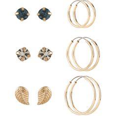 buy sterling silver hoop earrings set of 3 at argos co uk visit argos co uk to shop online for ladies earrings ladies jewellery jewellery an