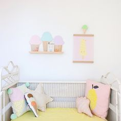 An ice cream nursery for @wigglespiggles products / Styling and photo @concretehoney #concreteandhoneystylingandphotography