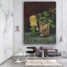De prachtige beelden van Vincent Van Gogh zijn nu ook verkrijgbaar op groot formaat bij Muurmeesters. #Muurmeesters #VincentVanGogh #interieur #oudemeesters
