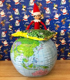 Before Barry heads back to the North Pole today he wants to wish you all a very Merry Christmas and peas on earth! The Elf, Elf On The Shelf, 24 December, Very Merry Christmas, North Pole, Earth, Holiday Decor, Kids, Merry Little Christmas