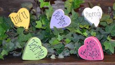 Hey, I found this really awesome Etsy listing at http://www.etsy.com/listing/119028795/candy-hearts-personalized-wood-block-set