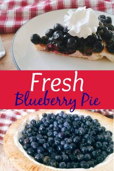 You Have Meals Poisoning More Normally Than You're Thinking That Homemade Blueberry Pie Recipe That Uses Fresh Blueberries For Intense Dessert Taste. A Bit Of Mascarpone Cheese Adds A Creamy, Delicious Flavor To This Blueberry Pie Dessert. Fresh Blueberry Pie, Homemade Blueberry Pie, Blueberry Pie Recipes, Homemade Food, Holiday Desserts, Holiday Recipes, Patriotic Desserts, Patriotic Party, Pie Dessert