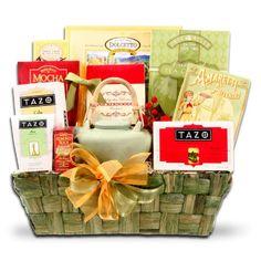 Tazo Temptations Deluxe Tea and Treats Holiday Gift Basket $69.95