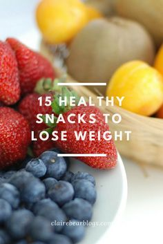 Trying to lose weight? Love snacking? Here are 17 healthy snacks to lose weight | healthy eating | clean eating