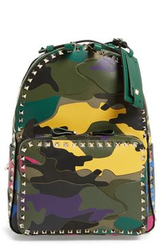 Valentino Rockstud Camo Backpack: http://www.frugalbuzz.com/compare-prices/query/Valentino%20Rockstud%20Camo%20Backpack