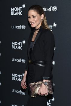 Olivia Palermo Photos Photos - Olivia Palermo attends the Montblanc & UNICEF Gala Dinner at the New York Public Library on April 3, 2017 in New York City. - Montblanc & UNICEF Gala Dinner