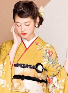 Ethnic Fashion, Kimono Fashion, Retro Fashion, Japanese Outfits, Japanese Fashion, Japanese Lady, Japanese Costume, Japanese Kimono, Kimono Outfit
