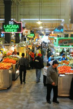 Grand Central Market and Egg Slut in downtown Los Angeles offers an array of fresh produce and artisanal products. Egg Slut is one of the outstanding restaurants within the market.