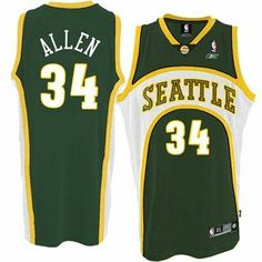 8a772a64b6b Buy Ray Allen Seattle Supersonics Soul Swingman Green Jersey Online from  Reliable Ray Allen Seattle Supersonics Soul Swingman Green Jersey Online  suppliers.
