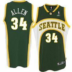 c2bb5df564e Buy Ray Allen Seattle Supersonics Soul Swingman Green Jersey Online from  Reliable Ray Allen Seattle Supersonics Soul Swingman Green Jersey Online  suppliers.