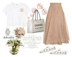 """Like A Bohemian..."" by harperleo ❤ liked on Polyvore featuring Chanel, Monki, Chloé, Topshop, Bobbi Brown Cosmetics, Harry Winston, ootd and SummerStreet"