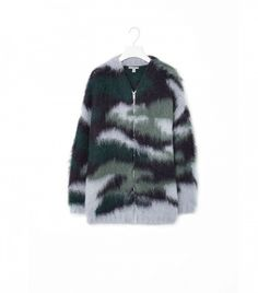 COS Brushed Mohair Cardigan