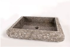 "Large Box Vessel Sink Style#112507-10 – Price $215/each (shipping, not included).  Available interior colors: Black, Bali Green, and Grey (shown).  Exterior is unfinished stone - size: 23""x19.5""x5"".  Our vessel sinks are imported from Bali and can mount onto any flat surface countertop.  For more information, please contact us via info@blueleafmiami.com or visit our website: www.blueleafmiami.com"