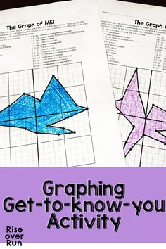 First Day Activity! Practice graphing positive and negative numbers on the coordinate plane with a get-to-know-you activity. Students graph a point for each statement that describes them. An engaging math activity to practice graph skills! 8th Grade Math, Math Class, Get To Know You Activities, Teaching Math, Maths, Teaching Ideas, Graphing Activities, Math Groups, Secondary Math