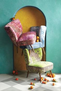 Anthropologie Dhurrie Occasional Chair #anthrofave