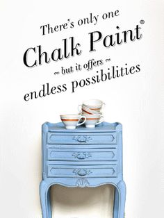 There is only one Chalk Paint® but it offers endless possibilities #anniesloan #morethanpaint #chalkpaint