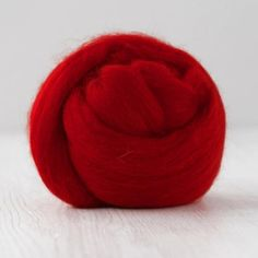 Merino Wool Combed Top Combed Wool Tops - DHG Organic - Fire #fire #woolroving #wooltop #aussiewool #wetfelting  #felting #feltingwool  #spinning #spinningfiber #sallyridgway #redwoolroving #knitting  #needlefelting needlefeltingwool #nunofelting #feltingsupplies Nuno Felting, Needle Felting, Fire Fire, Drop Spindle, Sources Of Fiber, Wool Felt, Merino Wool, Weaving, Knitting