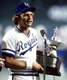 George Brett....The KC Royals....love em!!!
