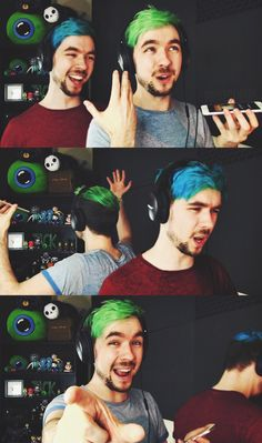 It's like there are two jacksepticeyes in the same room!!!