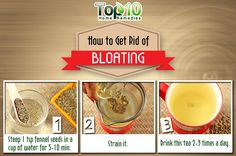 Simple & Effective Home Remedy to Get Rid of Belly Bloating and Gas