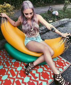 Luisa Fernanda W Poses, Youtubers, Outdoor, Swim Trunks, Bullets, Hearts, Celebs, Outdoors, Outdoor Games