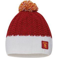 c76432a491c USC Trojans Nike Women s Express Pom Beanie - Cardinal White