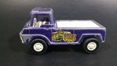 1969 TootsieToy Wheelie Wagon Pickup Truck Purple Die Cast Toy Car Vehicle - General Paint Wear https://treasurevalleyantiques.com/products/1969-tootsietoy-wheelie-wagon-pickup-truck-purple-die-cast-toy-car-vehicle-general-paint-wear #Vintage #1960s #60s #Sixties #Tootsie #TootsieToys #Wheelie #Wagon #Pickup #Trucks #Purple #DieCast #Toys #Cars #Vehicles #Autos #Automobiles #Collectibles