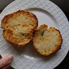 Toasted jalepeño cheddar biscuit from this weekend's baking Baking Biscuits, Cheddar Biscuits, Muffin, Toast, Bird, Breakfast, Morning Coffee, Birds, Cupcakes