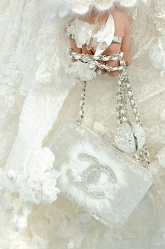 In my dreams. This would be a fourth of our budget!!! :-) bridal clutch, chanel #clutch #chanel