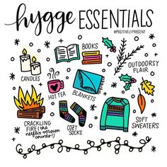 It's finally ideal hygge weather, and I love it! 😀🧦📚🕯 Hygge (pronounced hoo-ga) is a Danish word that roughly means enjoying cozy intimacy, celebrating by candlelight while surrounded by friends, and. Bullet Journal Ideas Pages, Bullet Journal Inspiration, Bullet Journals, Positive Vibes, Positive Quotes, How To Pronounce Hygge, Gloomy Sunday, Danish Words, Hygge Life