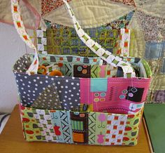 Missy's Tote Along Tool Caddy -- love the idea of a bag for toting sewing supplies to retreats, meetings, etc.