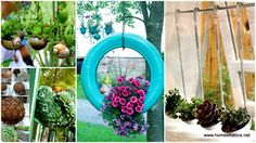 Bring green life to your home and find inspiration in the following 28 Ways to Accessorize Your Household With Creative DIY Hanging Planters.