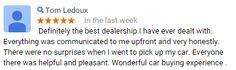 Thanks Tom!    #CustomerService #AllenSamuelsChryslerDodgeJeepRam