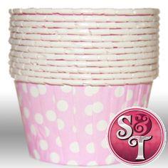 Dot Light Pink Portion Cups