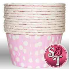 Dot Light Pink Portion Cups