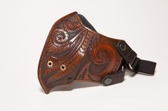 Western Leather Mask
