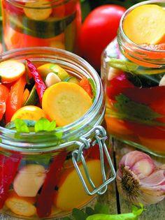 Ανάμικτα λαχανικά τουρσί - www.olivemagazine.gr Gas Grill Reviews, Carolina Bbq Sauce, Propane Gas Grill, Fermented Foods, Food Hacks, Food Tips, Preserves, Pickles, Cooking Tips
