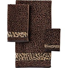 Better Homes And Gardens Animal Decorative Bath Towel Collection Brand Wam O