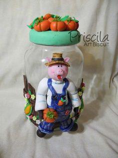 Pote Porquinho - Cold Porcelain