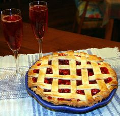 Make a Homemade Pie Crust: http://www.emersoncreekpottery.com/wordpress/ Shown: American Blue Pie Plate by Emerson Creek