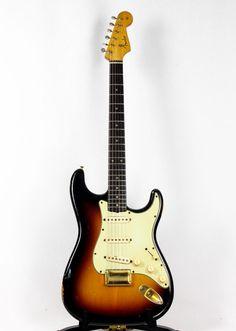 1962 vintage Fender slab board hardtail Stratocaster | eBay