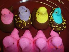 Chocolate Covered Peeps 20 by SlipsCreativeSweets on Etsy, $10.00